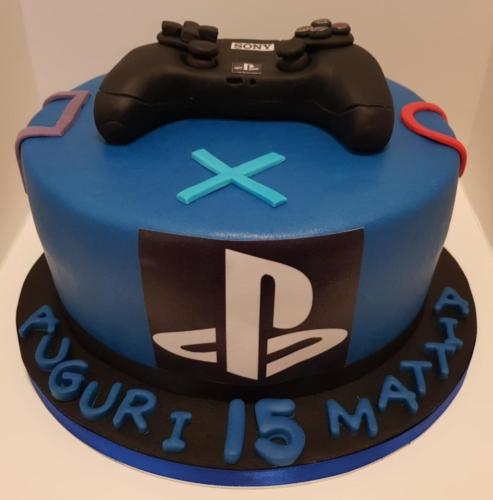Torta di Compleanno Playstation